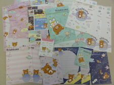 RILAKKUMA Space Stationery Letter Set Envelope Memo paper San-X Star Astronaut