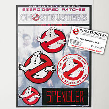 "GHOSTBUSTERS ""SPENGLER"" Team Patches - Iron-On Patch Mega Set #023 - FREE POST"