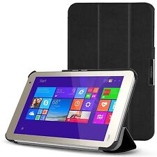 TOSHIBA Encore 2 WT8-B32CN / B64CN Tablet Case Smart-shell Stand Cover Black
