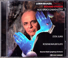 Lorin MAAZEL: Richard STRAUSS Also sprach Zarathustra Don Juan Rosenkavalier CD