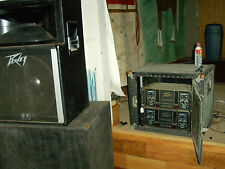 Vintage Peavey PA amps in cabinet. pick up Clarksville, AR,