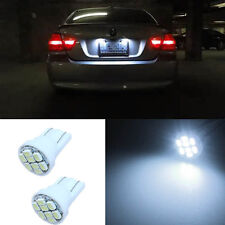 2Pcs LED T10 W5W Number Plate Light Bulbs For Holden VE Commodore SS SSV SV6 HSV