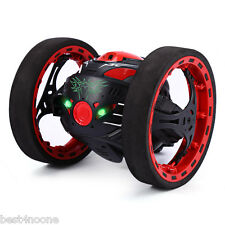 PEG SJ88 2.4G Mini Remote Control Jumping Car 2 Second Rotation Bounce RC Toy