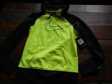WOMENS NIKE HOODIE PULLOVER THERMA FIT THUMBHOLE BIG SWOOSH ATHLETIC RUNNING