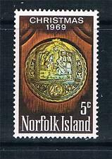 Norfolk Is 1969 Christmas SG 102 MNH