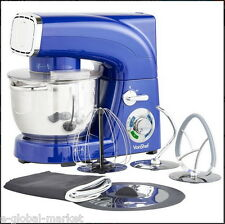 Stand Mixer Blender Electric Grinder Guard Kitchen Cakes Food Dust COVER Blue