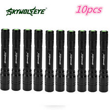 6000LM 3 Modes CREE XML T6 LED 18650 Flashlight Torch Lamp Light Outdoor 10pcs