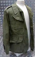 Genuine Vintage Military Combat Jacket 1960`s Distressed Look Unique HBT 60`s
