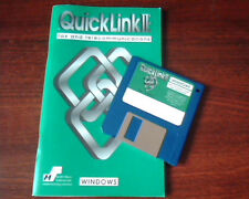 QuickLink II Fax Telecommunications Windows 3.1 3.11  Smith Micro