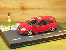 CODE 3 Diorama SLAMMED/LOWERED/ EURO Volkswagen Golf GTI in Red 1/43rd Scale