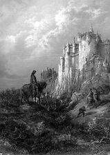 Gustave Dore-Camelot, idylls of the King + + Poster, din-a2 + + Dimmu Borgir NUOVO