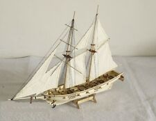 Hobby ship model kits Scale 1:100 The HALCON sail boat wooden model