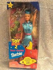 DISNEY PIXAR TOUR GUIDE BARBIE DOLL TOY STORY 2 SPECIAL EDITION 1999 MINT 24015