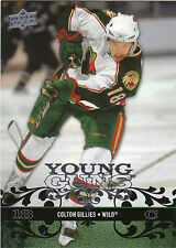 08-09 UPPER DECK YOUNG GUNS ROOKIE RC #224 COLTON GILLIES WILD *27664
