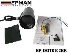 Manometre de Temperature d' Eau EPMAN Micro 37mm Digital NOIR ETANCHE Neuf