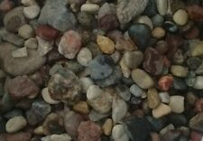 45 Lbs Medium Assorted  River Rocks Garden Stones Floral ( Free Shipping)