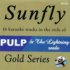 Sunfly Karaoke Gold 23 - Pulp & The Lightning Seeds (CD+G) Direct From Sunfly