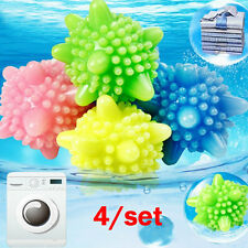 4/Set Magic Wash Laundry Ball Fabric Clothes Washing Machine Softener Cleaner