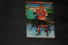 JOE WATSON 1993 PRO SET PARKHURST SIGNED AUTOGRAPHED CARD #474 FLYERS