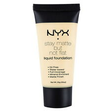 NYX Stay Matte But Not Flat Liquid Foundation SMF01 - Ivory 1.18floz, 35ml