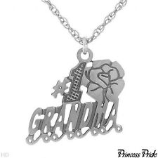 PRINCESS PRIDE #1 Grand Ma Necklace Crafted in 925 Sterling silver