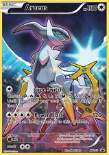 MYTHICAL ARCEUS XY116 NM Pokemon TCG Card XY PROMO FULL ART HOLO FOIL Black Star