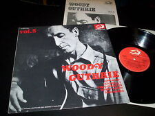 "Woody Guthrie ‎""Vol. 5"" LP ALBATROS ITA 1976 - BOOKLET"