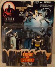 The New Batman Adventures Animated Arkham Asylum Escape Batman & Two-Face MOC