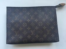 Auth Louis Vuitton Monogram Toiletry Pouch GM Cometic Clutch Travel Purse  26