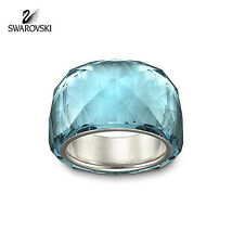 $155 Swarovski Indicolite Blue Crystal NIRVANA RING PETITE (Small/52/6) #1103233