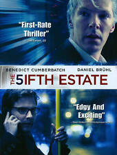 The Fifth Estate (DVD, 2014)