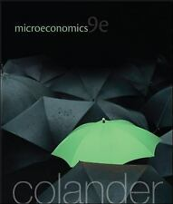 NEW - Microeconomics (McGraw-Hill Economics) by Colander, David