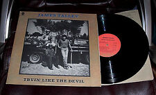 JAMES TALLEY Tryin' Like the Devil NM 1976 Capitol LP Forty Hours JOHNNY GIMBLE
