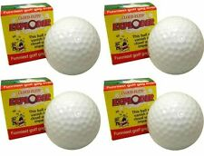 4 pack Exploding Golf Ball Cloud Flite Exploder Gag Gift Novelty Prank !~Funny~!