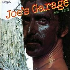 "FRANK ZAPPA ""JOE'S GARAGE ACTS 1,2 & 3 2"" CD NEU"