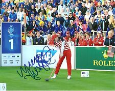 MORGAN PRESSEL Signed *8X10 SOLHEIM CUP PHOTO* W/COA *NEW* RARE