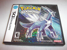 Pokemon Diamond Version (Nintendo DS) Lite DSi XL 3DS 2DS w/Case & Manual