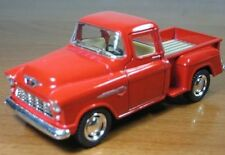 1/32 Scale 1955 Chevy Stepside Pick-up Truck Metal Diecast Model Collection Pull
