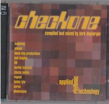 CHECKONE 2CD photek JEDI KNIGHTS Stacey pullen BLACK DOG D&B breaks As one