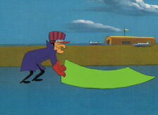 Wacky Races Dick Dastardly Production Cel D21, Vintage Hanna Barbera HB 1968