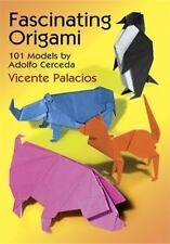 Fascinating Origami: 101 Models by Adolfo Cerceda (Origami)-ExLibrary
