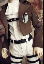 COS Attack Corps Suit for BJD 1/4 1/3 SD13 SD17 IP Doll Clothes Customized LF3