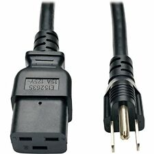 Tripp Lite Heavy-duty Power Adapter Cord, 15a, 14awg [iec-320-c19 To Nema
