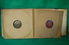 Lot de 11 Vinyles 78 tours anciens + classeur PERFECTUS