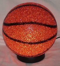Kids Sports Table Lamp Basketball Lighting Sparkle Bedroom Children Desk Gift