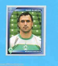 PANINI-CHAMPIONS 2008/2009-Fig.195- HUGO ALMEIDA - WERDER BREMA -NEW BLACK