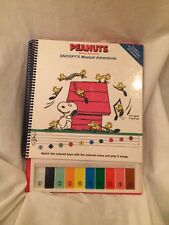 Peanuts Snoopy Musical Storybook Electronic Keyboard 1988 Vintage Piano Rare