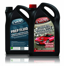 EVANS TWIN PACK WATERLESS POWER COOLANT & PREP FLUID, 5 LITRE BUNDLE KIT *OFFER*