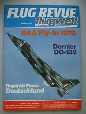 Flug Revue flugwelt international mit Flugkörper Heft 11 Nov. 1970 Luftfahrt