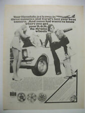 1973 ROH RO-KROME WHEELS FULLPAGE MAGAZINE ADVERTISEMENT